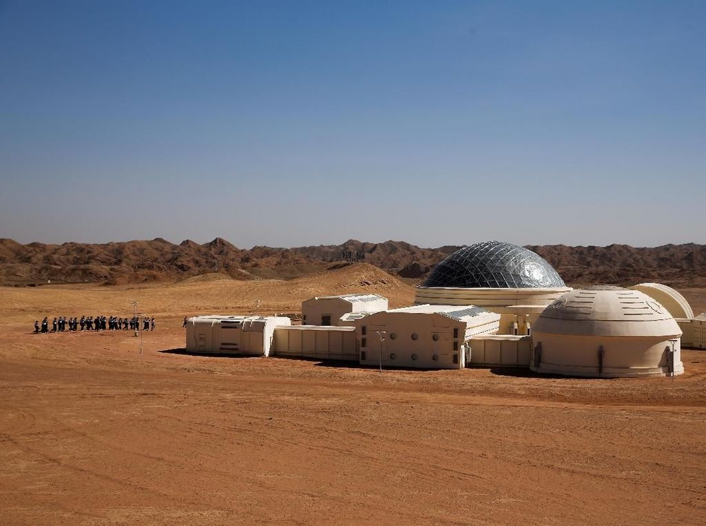 Di Gurun Gobi, China Buka Markas Simulasi Planet Mars