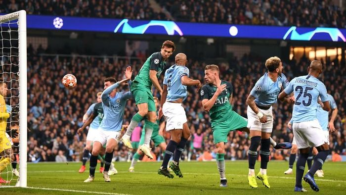 Inilah susunan pemain Man City vs Tottenham Hotspur (Laurence Griffiths/Getty Images)