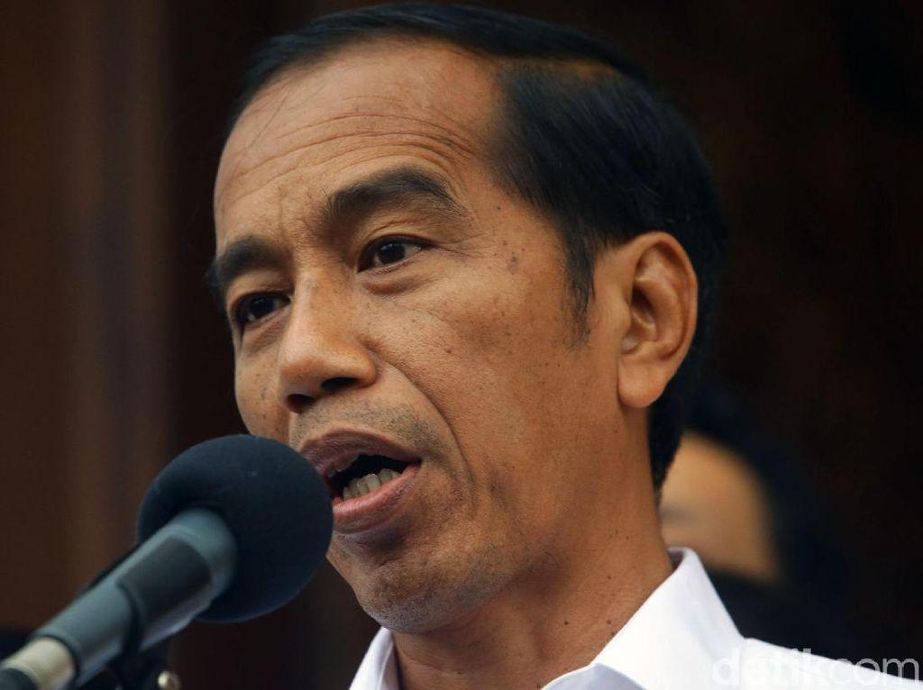 Bertemu di Istana, Jokowi Berterima Kasih ke Viktor-Koster-Olly