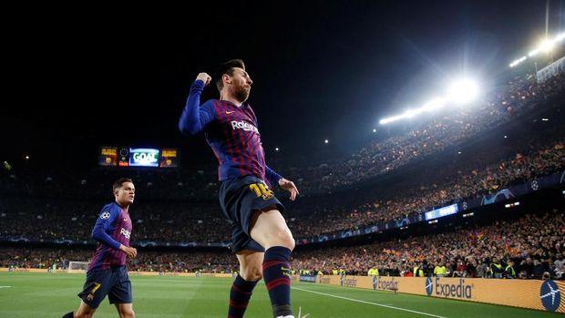 Barcelona belum terkalahkan di Liga Champions musim ini
