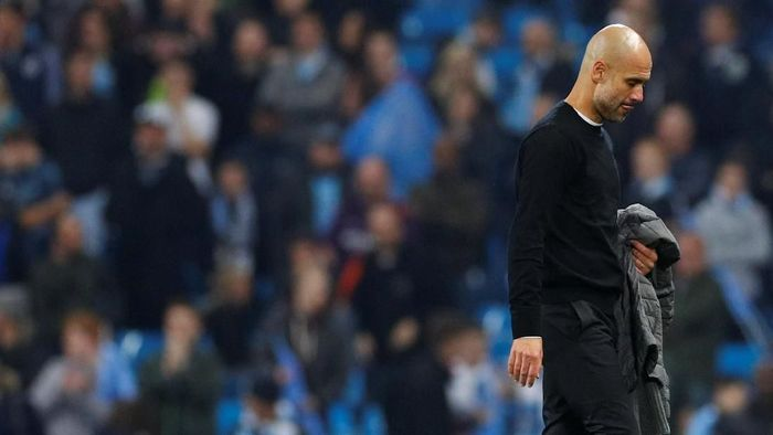 Josep Guardiola sudah lama tak memenangi Liga Champions. (Foto: Phil Noble/Reuters)
