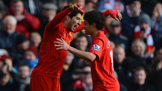 Waktunya Suarez dan Coutinho Reuni dengan Liverpool