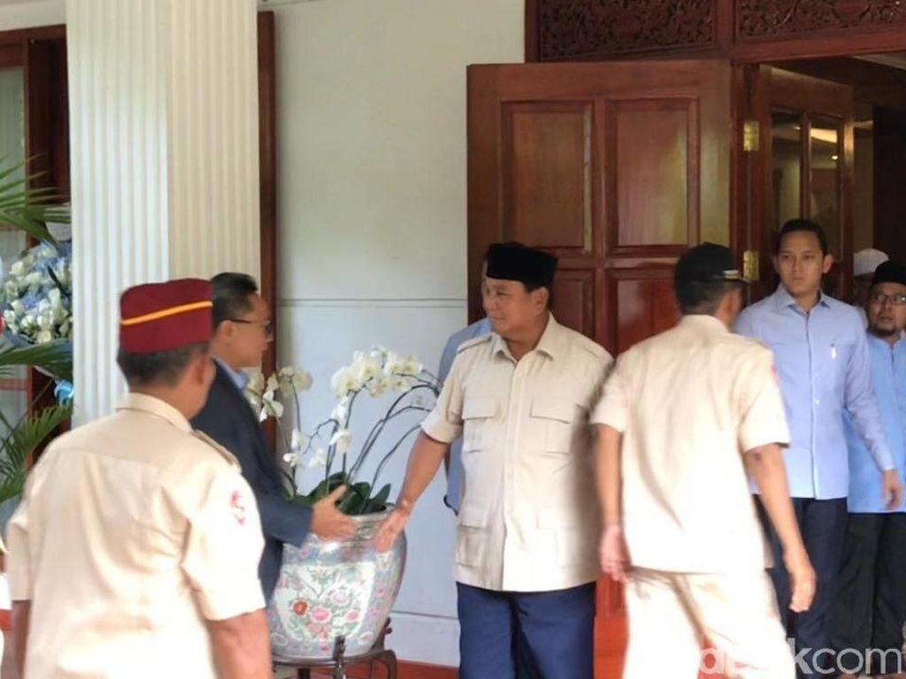 Susul Amien Rais, Zulkifli Hasan Merapat di Kediaman Prabowo