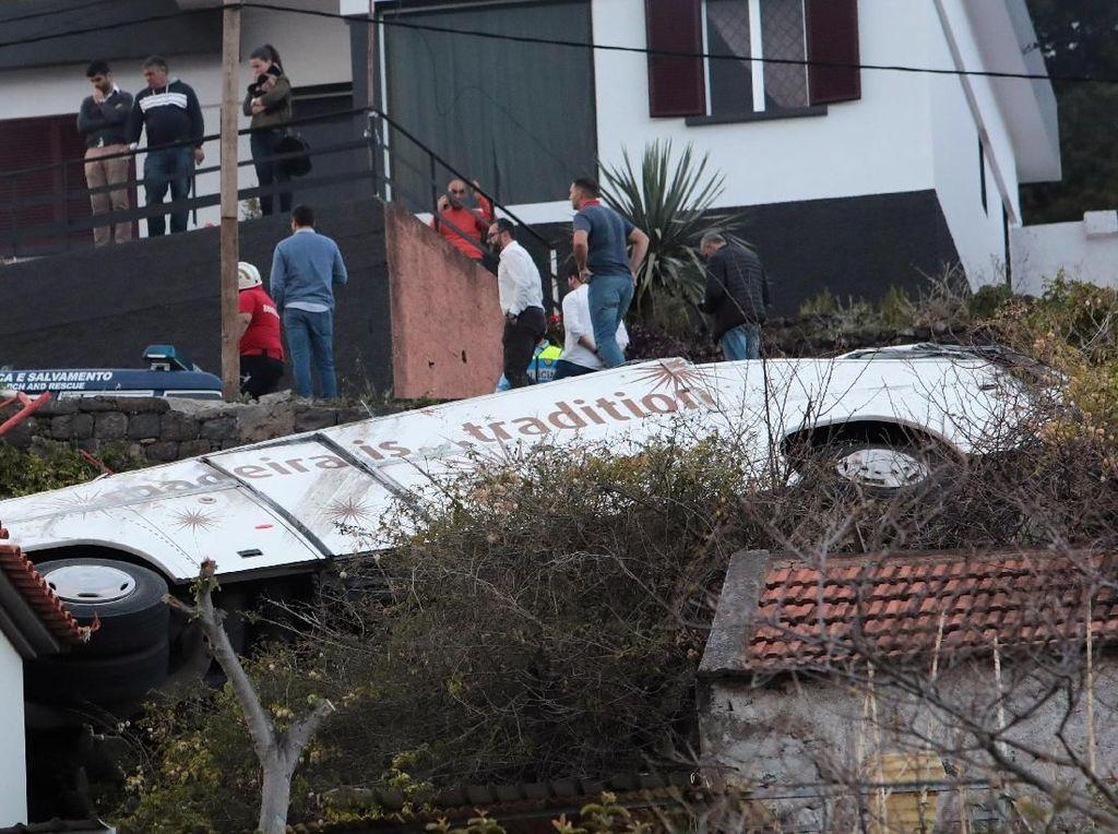 28 Orang Tewas Akibat Kecelakaan Bus di Portugal