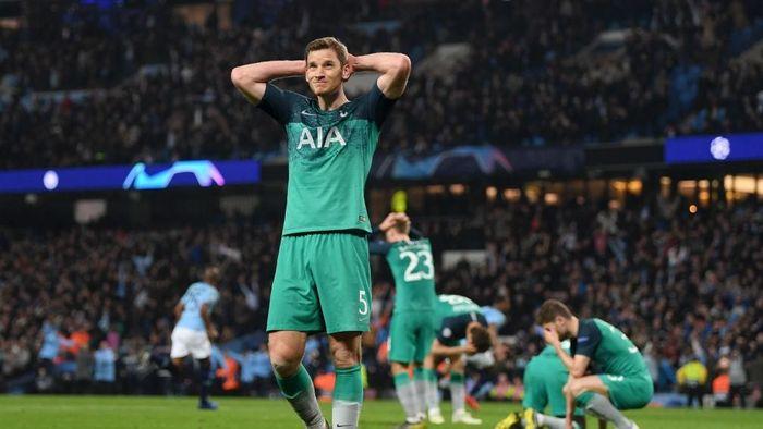 Pemain Tottenham Hotspur, Jan Vertonghen. (Foto: Shaun Botterill/Getty Images)