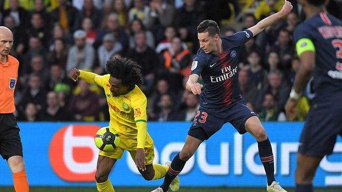 PSG kembali gagal mengunci gelar juara Ligue usai dikalahkan Nantes (Foto: LOIC VENANCE / AFP)