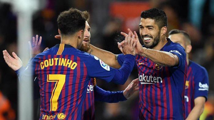 Barcelona berpeluang memastikan gelar juara Liga Spanyol pada tengah pekan ini (Foto: David Ramos/Getty Images)