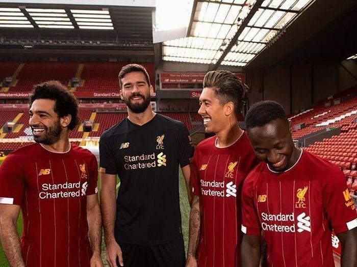 Jersey baru Liverpool untuk musim 2019/2020 (Instagram @Liverpoolfc)