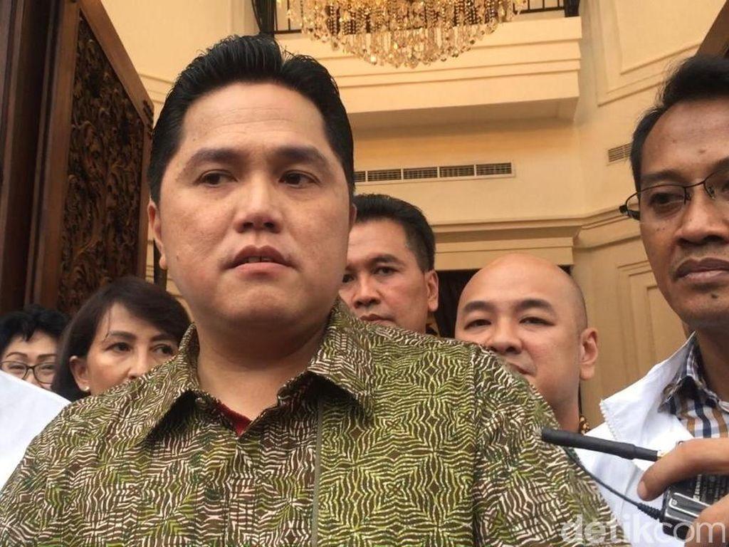 Erick Thohir Bantah Pemindahan Ibu Kota Hanya Pengalihan Isu