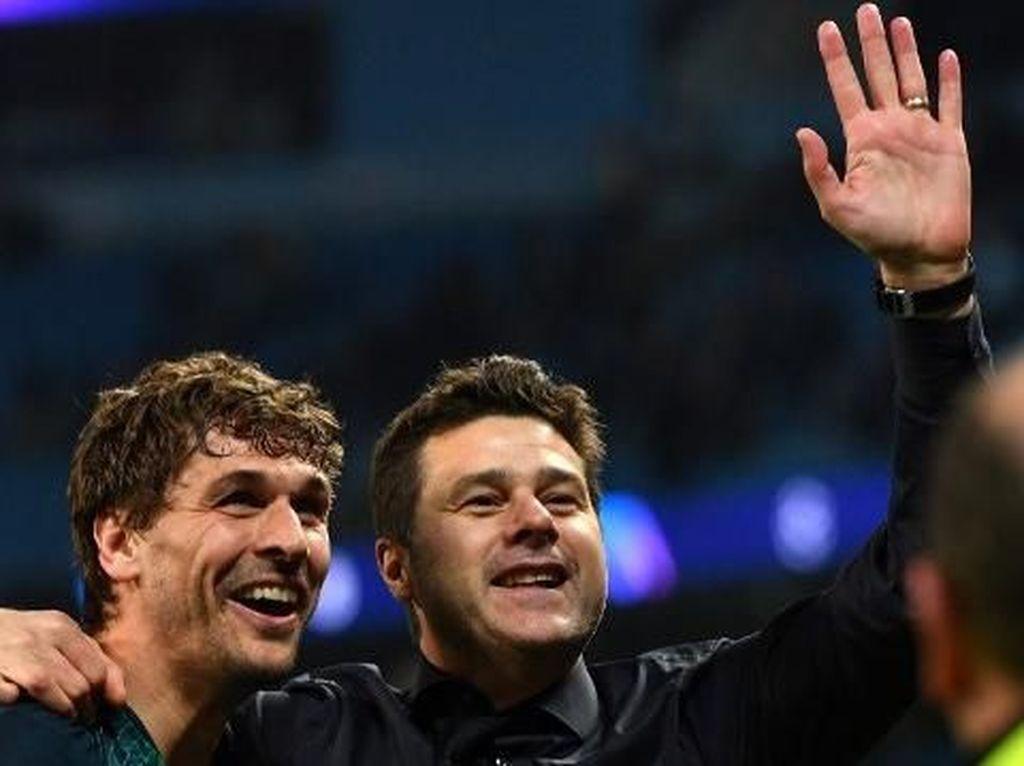 Spurs ke Semifinal Liga Champions, Pochettino: Kane Cs Layaknya Pahlawan