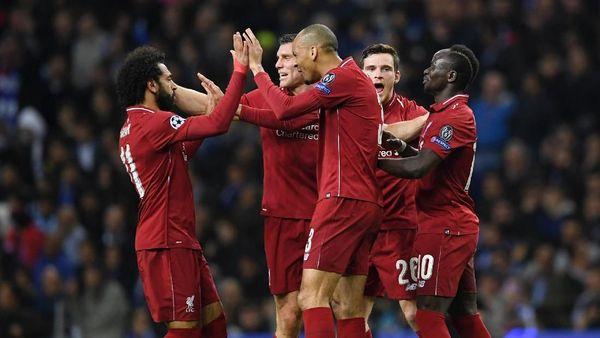 Ganas di babak delapan besar, Liverpool melaju mulus ke semifinal Liga Champions (Matthias Hangst/Getty Images)