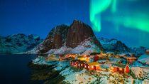 Lampu Motor dan Sinar Matahari di Negara-negara Nordik