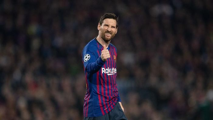 Striker Barcelona mengomentari tersingkirnya Cristiano Ronaldo dari Liga Champions. (Foto: Matthias Hangst/Getty Images)