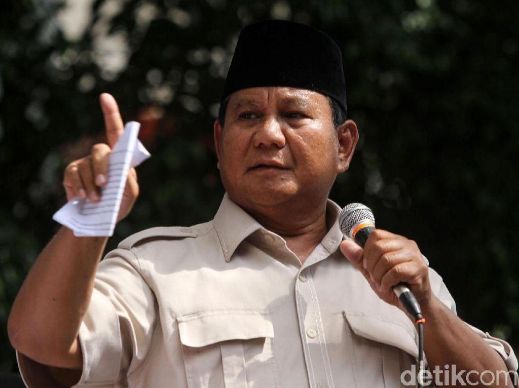 Pulang dari Austria, Prabowo Kembali ke Kediamannya di Kertanegara