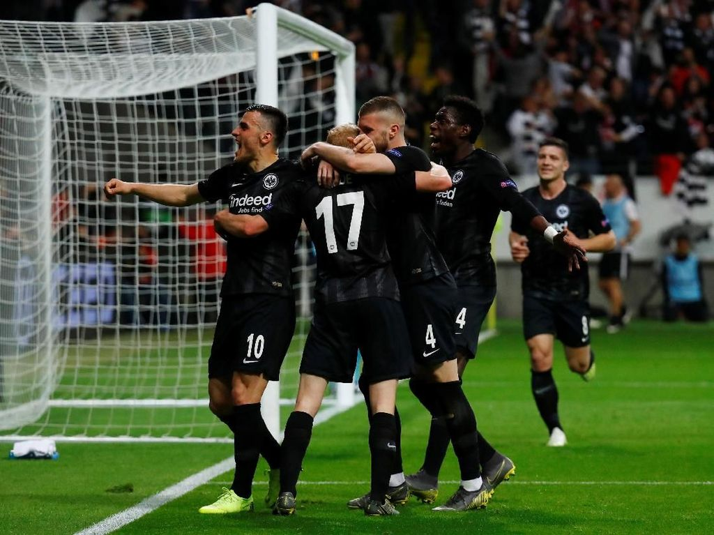 Hasil Liga Europa: Frankfurt dan Valencia Tembus Semifinal