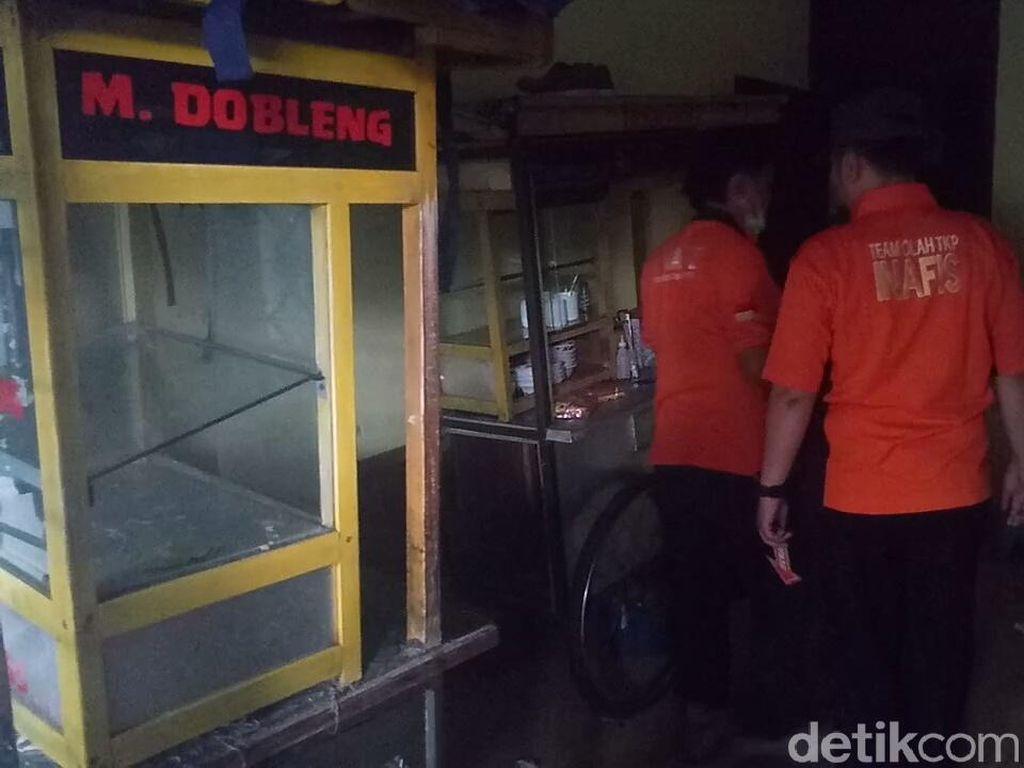 4 Pedagang Bakso Luka Bakar Akibat Gas Melon Bocor