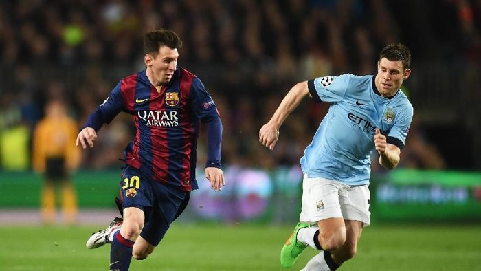 James Milner sudah dua kali bertemu Barcelona (Michael Regan/Getty Images)