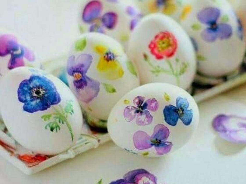 Cantik Seperti Karya Seni, Telur Hias Ini Siap Meriahkan Paskah