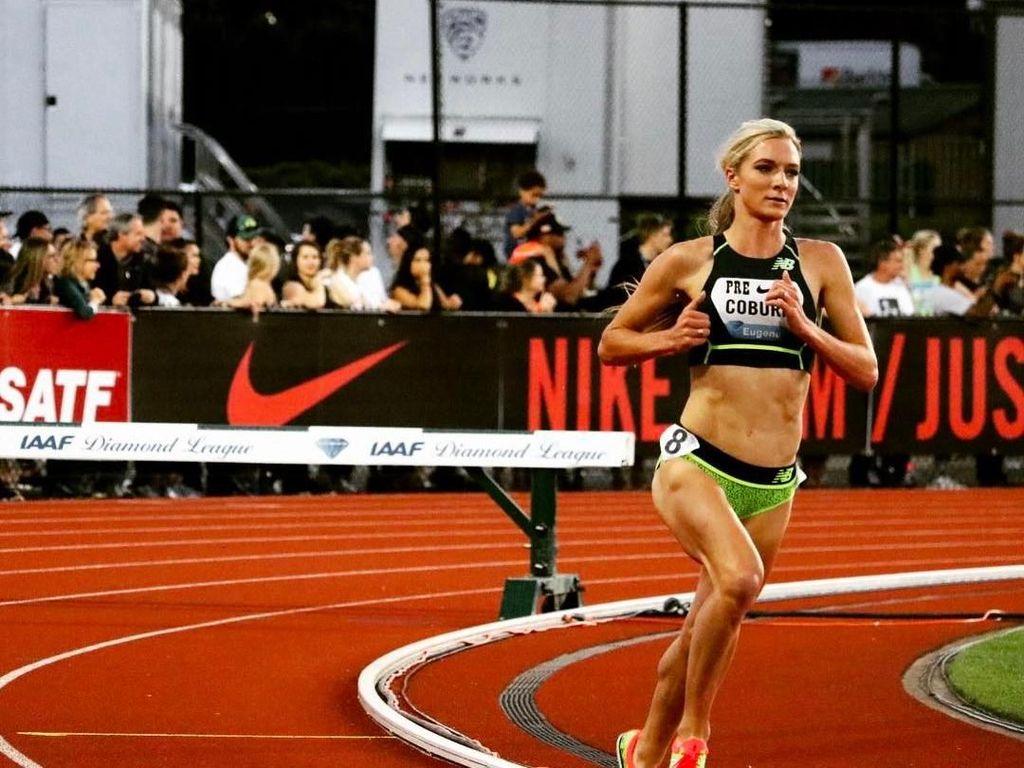 Intip Liburannya Emma Coburn, Atlet Lari Tercantik Sedunia