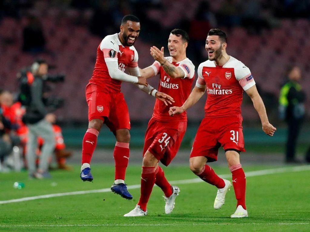 Mertens: Arsenal Tak Lebih Baik dari Napoli