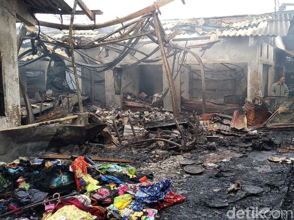 Selidiki Kebakaran Pasar Lawang, Labfor Amankan Kompor dan Trafo