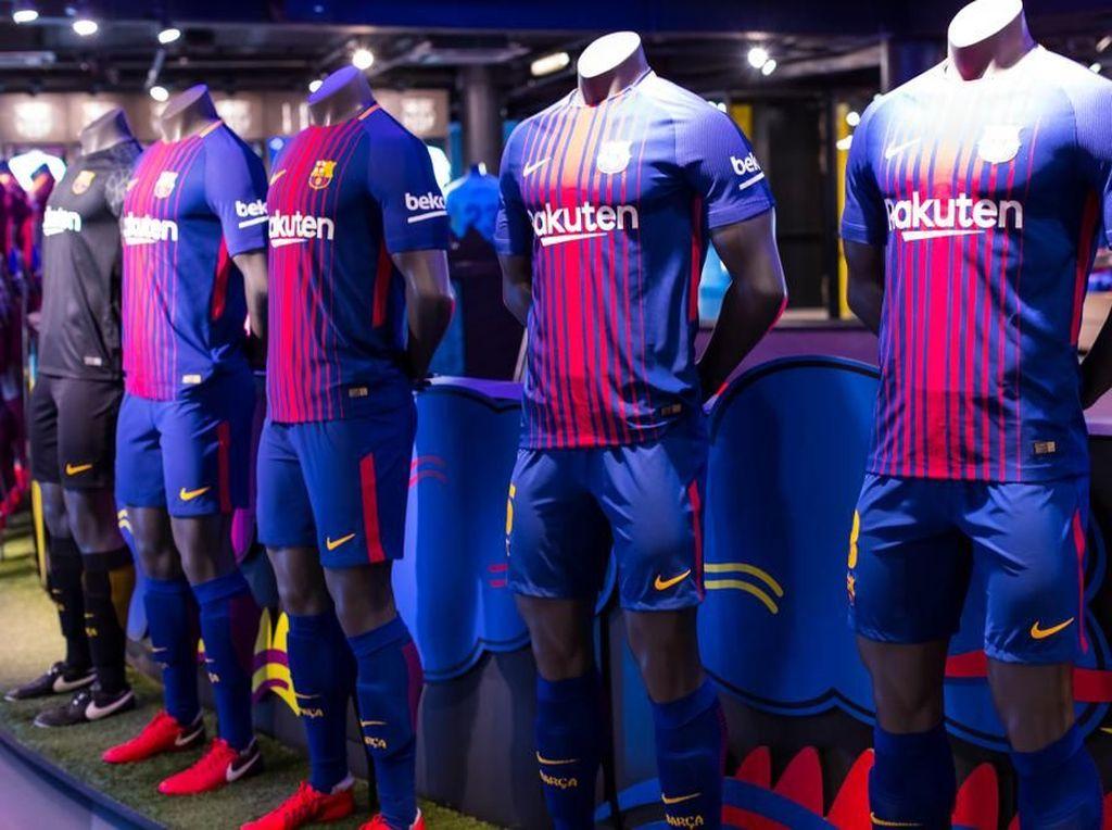 Barcelonistas! Mau Jersey yang Ditandatangani Messi? Ini Caranya