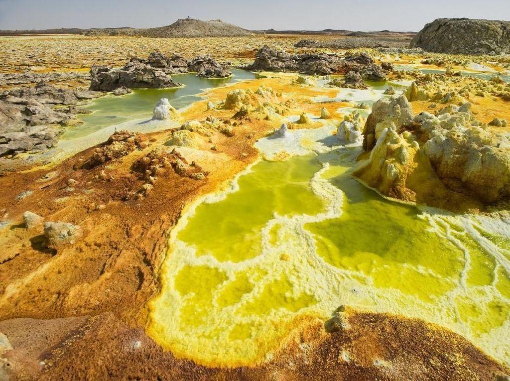 Danakil, Gurun yang Dijuluki Tanah Alien