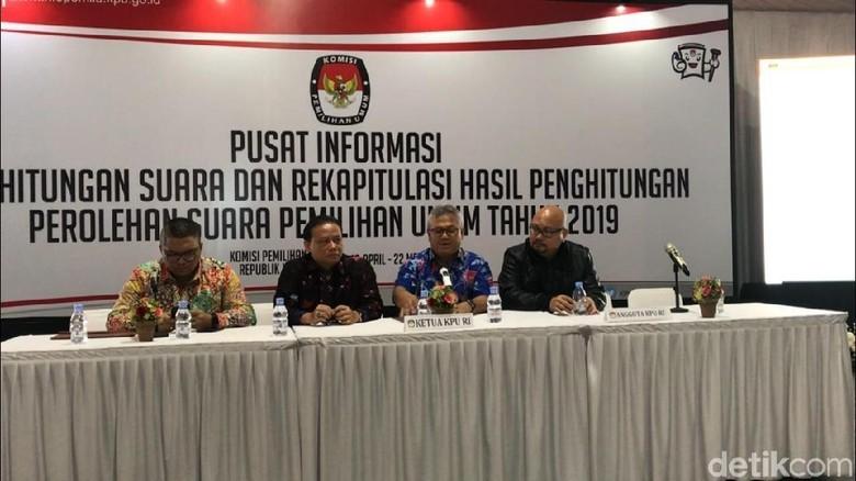 KPU-Bawaslu Resmikan Ruang Pusat Informasi Rekapitulasi Suara Pemilu 2019
