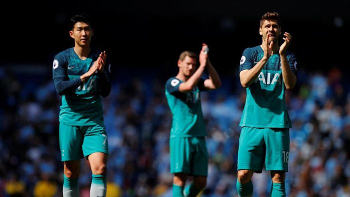 Posisi Tottenham Hotspur di empat besar terancam. (Foto: Phil Noble/Reuters)