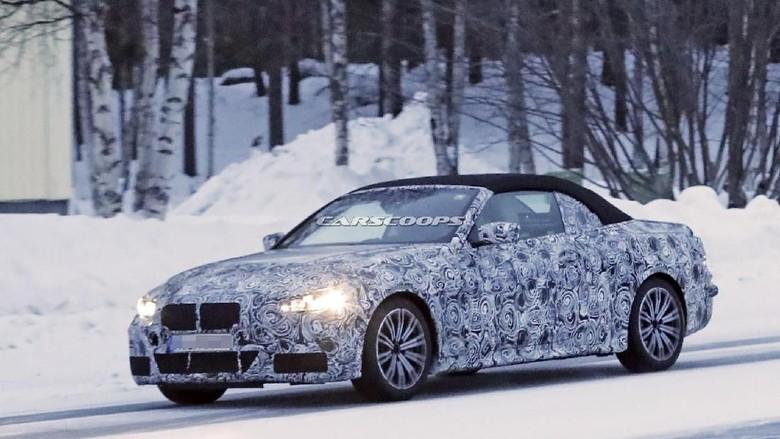 BMW 4 Series Versi 'Telanjang' Convertible Muncul ke Permukaan