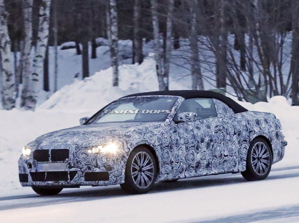 BMW 4 Series Versi Telanjang Convertible Muncul ke Permukaan