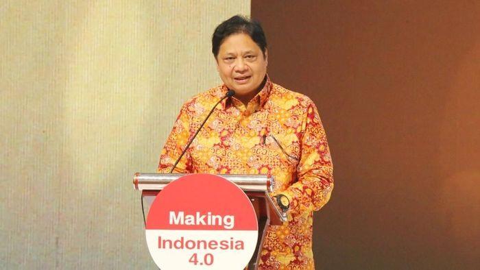Menteri Perindustrian Airlangga Hartarto/Foto: Dok. Kementerian Perindustrian