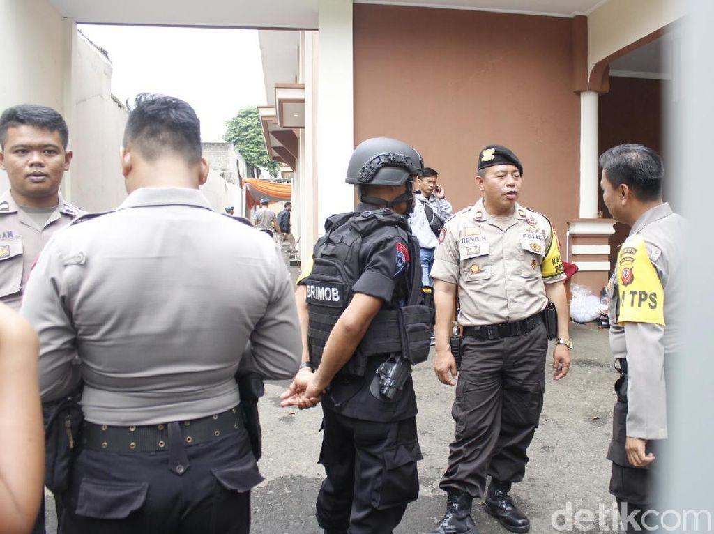Polres Cimahi Pertebal Keamanan Lokasi Rekapitulasi Pemilu