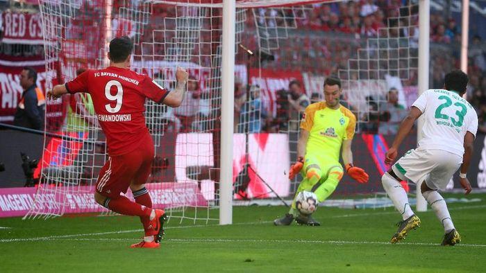 Bayern Munich menang 1-0 atas Werder Bremen. (Foto: Michael Dalder)