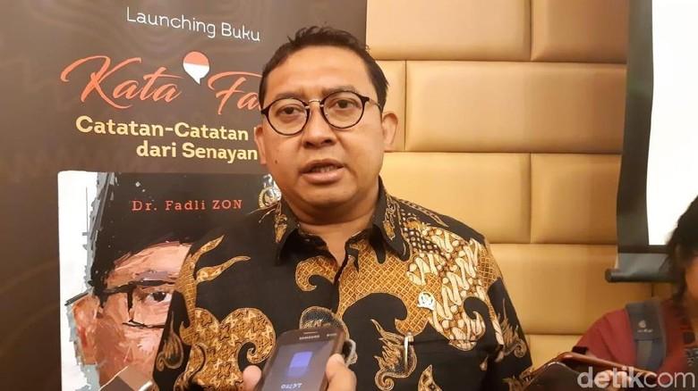 Fadli Zon Jelaskan soal Kemenangan Prabowo Turun dari 62% ke 54%
