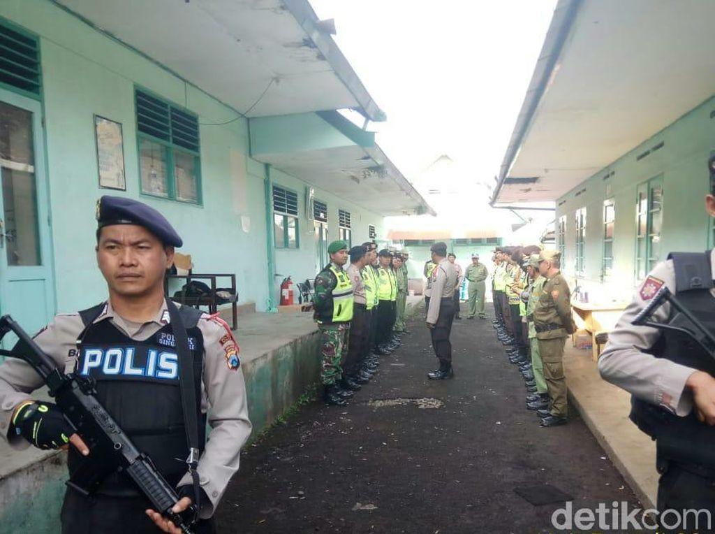 Setiap PPK di Malang Dijaga 10 Personel Bersenjata Laras Panjang