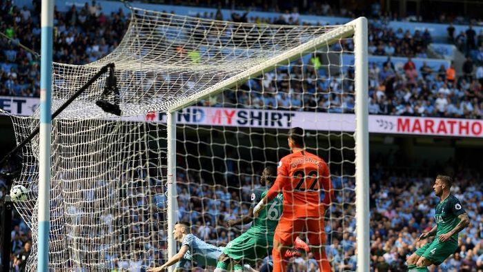 Man City ungguli Spurs 1-0 di babak pertama (Shaun Botterill/Getty Images)
