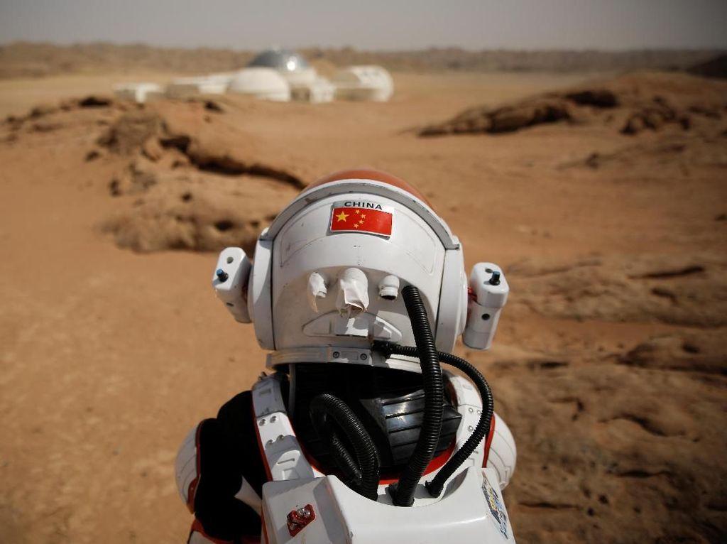 Penampakan Koloni Mars Buatan China