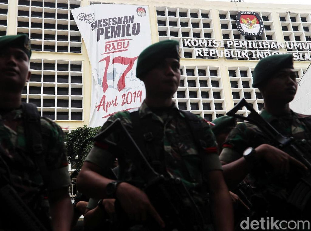 Aksi 22 Mei, KPU Minta Massa Tak Lakukan Kekerasan