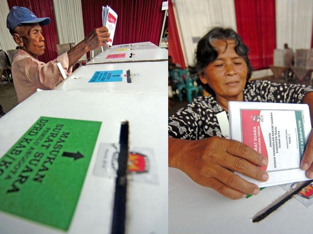 2 TPS di Tegal Lakukan Pemungutan Suara Ulang