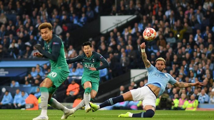 Manchester City vs Tottenham Hotspur digelar di beIN Sports malam nanti (Shaun Botterill/Getty Images)