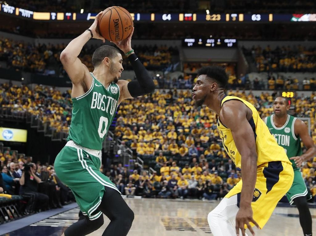 Hasil NBA: Boston Celtics Ungguli Pacers 3-0