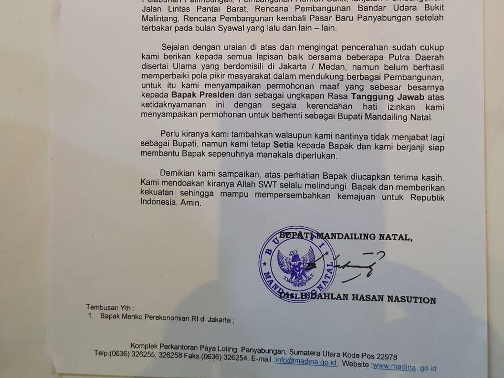 Video Penjelasan Bupati yang Mundur karena Jokowi Kalah di Daerahnya