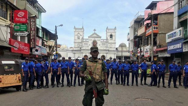 Teror bom di Gereja dan hotel di Sri Lanka