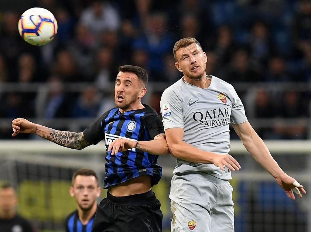 Hasil Liga Italia: Inter vs Roma Berakhir 1-1