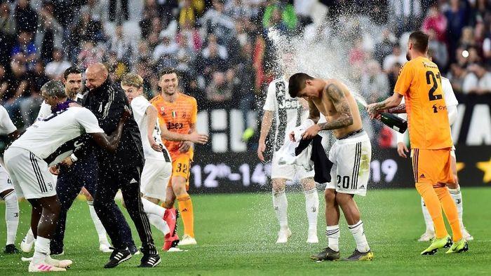 Juventus meraih scudetto kedelapan secara beruntun. (Foto: Massimo Pinca/Reuters)