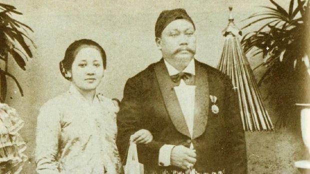 RA Kartini dan suaminya
