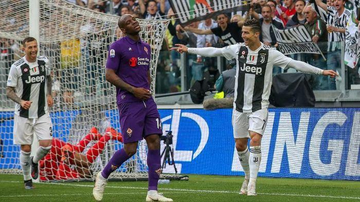 Juventus mengunci scudetto setelah mengalahkan Fiorentina 2-1. (Foto: Massimo Pinca/Reuters)