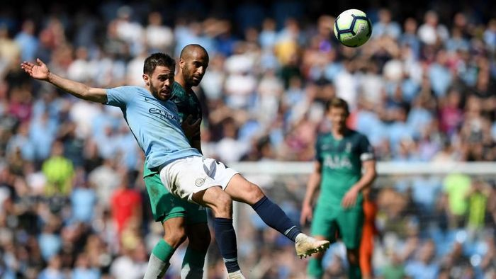 Manchester City menang 1-0 atas Tottenham Hotspur untuk kembali ke puncak klasemen Liga Inggris (Foto: Shaun Botterill/Getty Images)