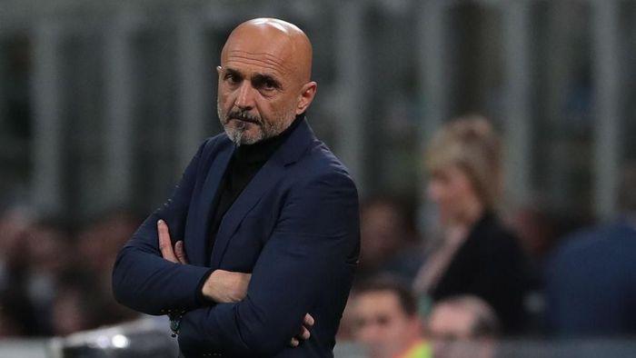 Luciano Spalletti menilai hasil imbang di laga Inter vs Roma sebagai hasil yang adil (Foto: Emilio Andreoli/Getty Images)